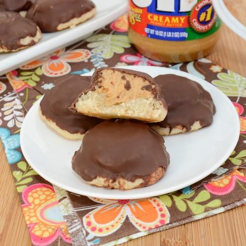 Homemade Tagalongs (Peanut Butter Patties)