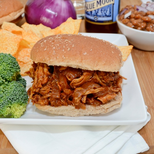 Sweet Pea's Kitchen » Barbecued Pulled Chicken Sandwiches