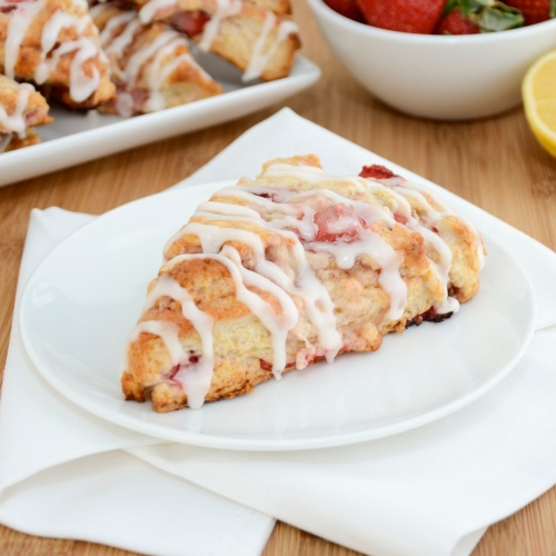 Sweet Pea's Kitchen » Strawberries 'n Cream Scones