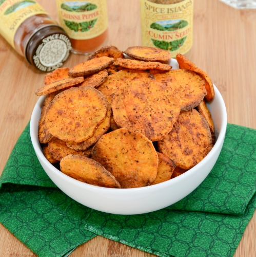 Sweet Pea's Kitchen » Baked Sweet Potato Chips