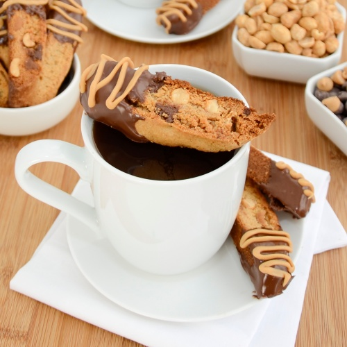 Sweet Pea's Kitchen » Peanut Butter Chocolate Chip Biscotti