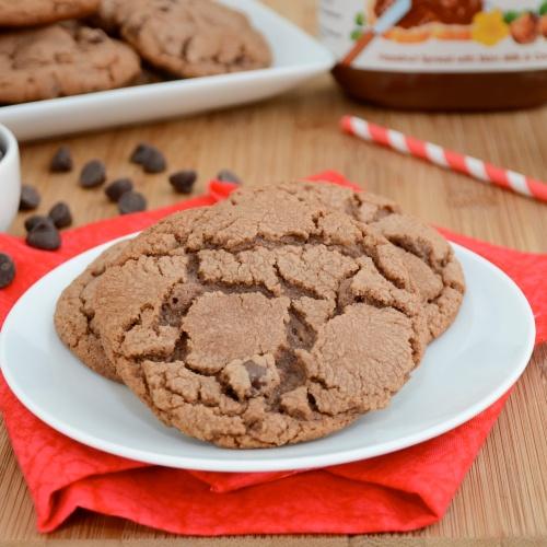 Sweet Pea's Kitchen » Nutella Chocolate Chip Cookies