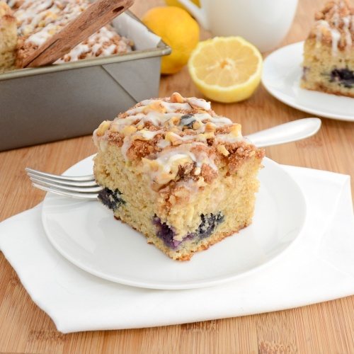 Sweet Pea's Kitchen » Blueberry-Lemon Coffee Cake