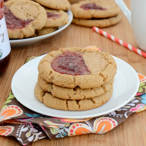 Sweet Pea's Kitchen » Peanut Butter and Jelly Cookies
