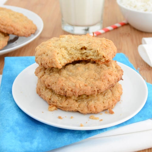 Sweet Pea's Kitchen » Thin and Crispy Coconut-Oatmeal Cookies