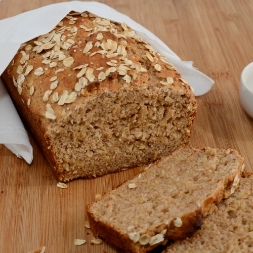 packed with hearty oats and sweet honey this bread is