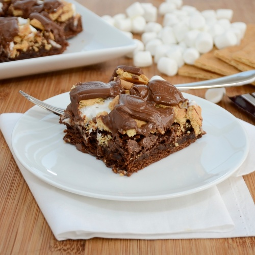 Sweet Pea's Kitchen » S'More Brownies