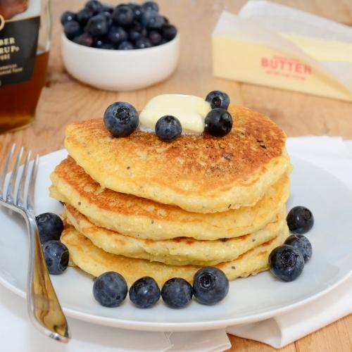 cornmeal pancakes blueberry cornmeal pancakes cornmeal pancakes with ...