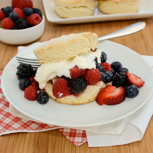 Sweet Pea's Kitchen » Mixed Berry Shortcakes