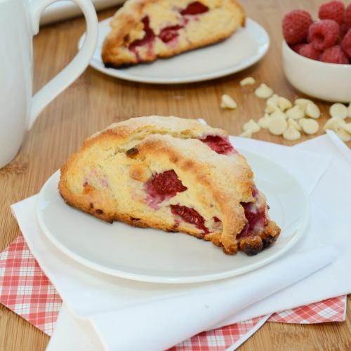 Sweet Pea's Kitchen » Raspberry White Chocolate Scones